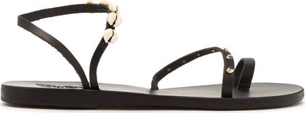 Ancient Greek Sandals Apli shell-embellished leather sandals