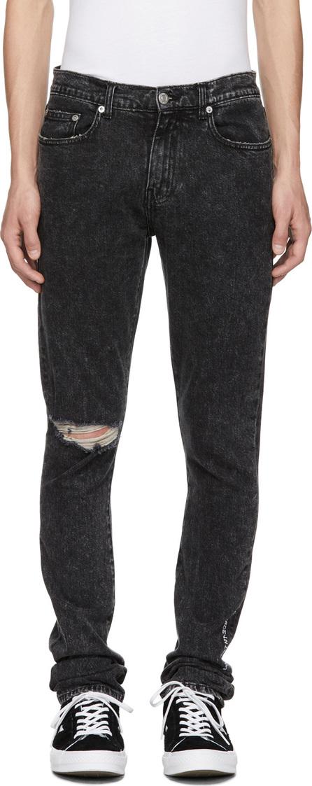 Adaptation Black Roxy Ripped Slim Jeans
