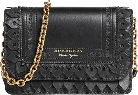 Burberry London England Brogue detail wallet