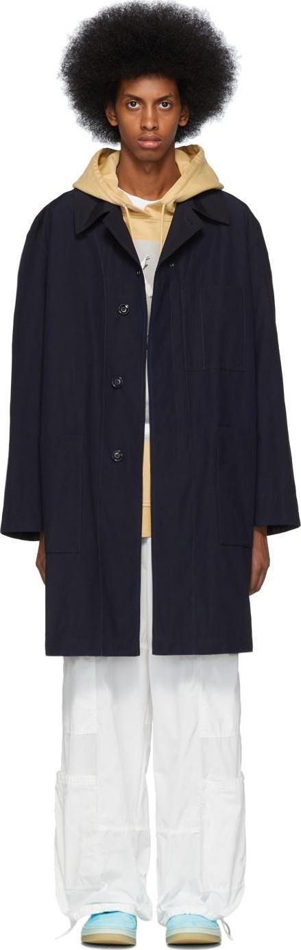 Acne Studios Blue Orel Coat