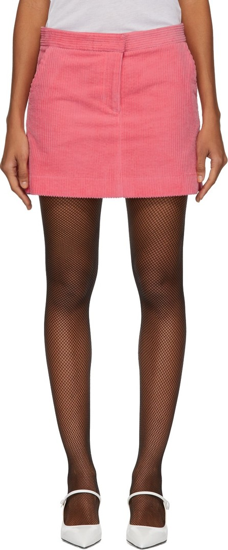 Ashley Williams Pink Corduroy Executive Miniskirt