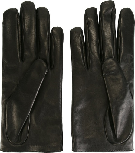 Gucci star and feline head motif gloves