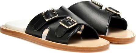 Acne Studios Bibbi leather slip-on sandals