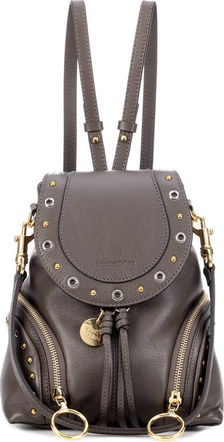 See By Chloé Olga Mini studded leather backpack