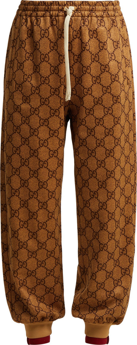 Gucci GG-printed jersey track pants