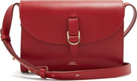 A.P.C. Alicia leather cross-body bag
