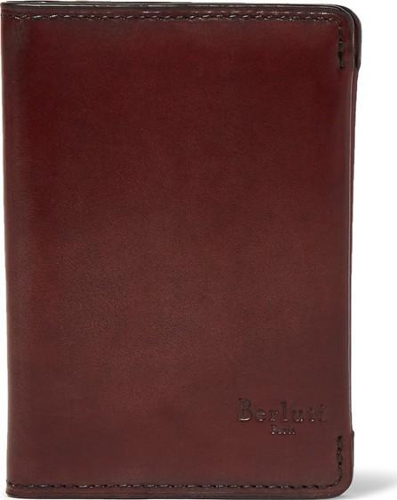 Berluti Leather Bifold Cardholder