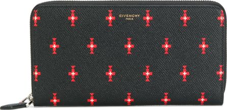 Givenchy cross pattern Pandroa wallet