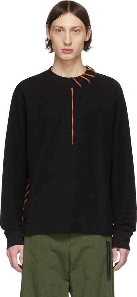 Craig Green SSENSE Exclusive Black Laced Sweatshirt