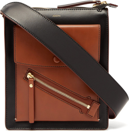 Joseph Mortimer leather shoulder bag