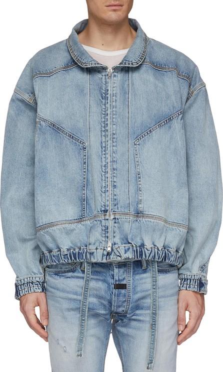 Fear of God Panelled denim trucker jacket