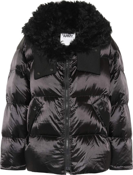 Army By Yves Salomon Shearling-trimmed down coat