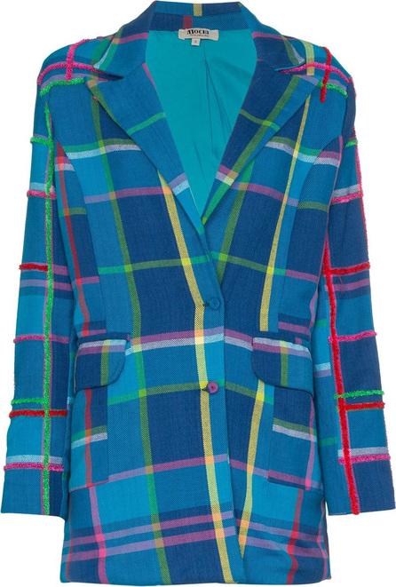 All Things Mochi Long sleeve check blazer jacket