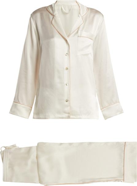 Fleur of England Signature silk pyjama set