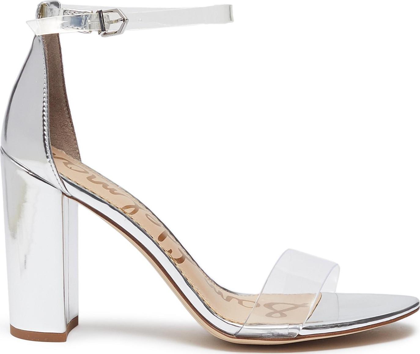 1da181ee395 Sam Edelman  Yaro  PVC strap mirror leather sandals - Mkt