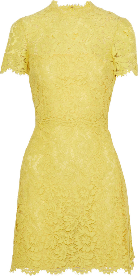 Valentino Mini dress in lace with short sleeves