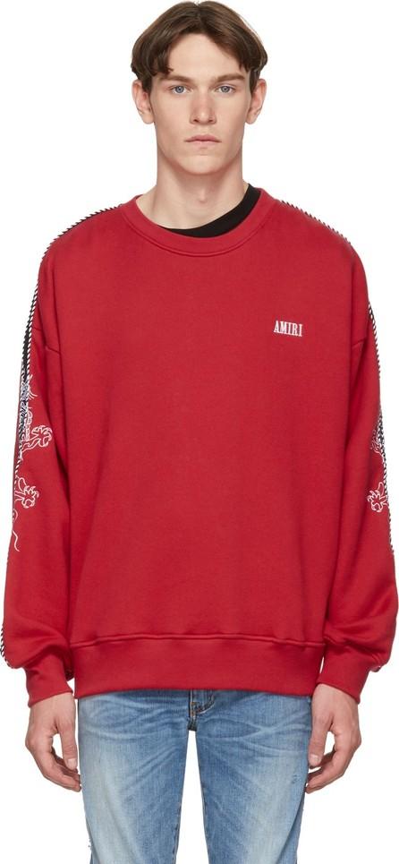 Amiri Red Dragon Sweatshirt