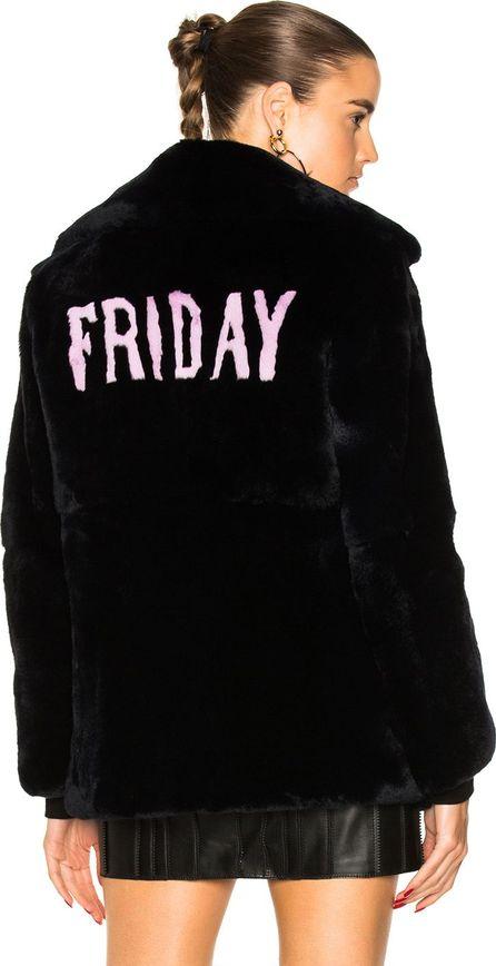 Alberta Ferretti Friday Rabbit Fur Coat