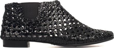 Yves Desfarge Black Jagger Leather Low Boot