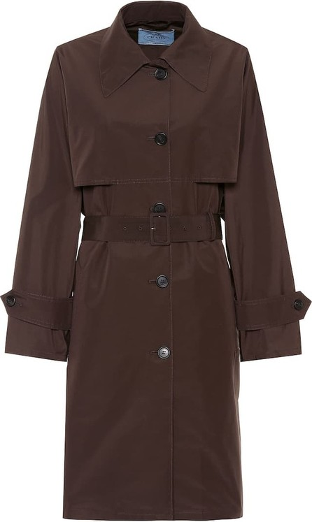 Prada Technical poplin coat