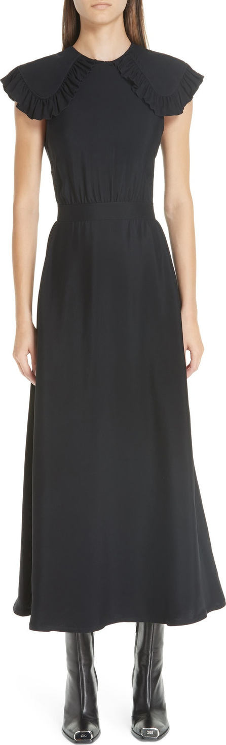 Calvin Klein 205W39NYC Cady Ruffle Pioneer Dress