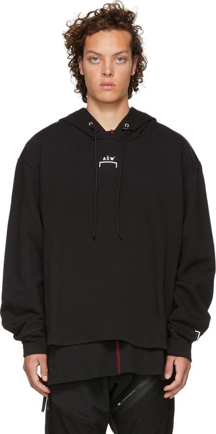 A-Cold-Wall* Black Logo Hoodie