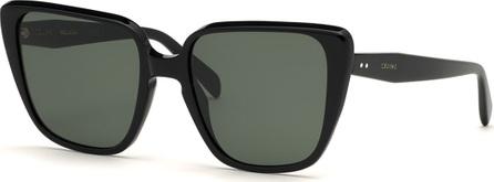 Celine Cat-Eye International-Fit Acetate Sunglasses