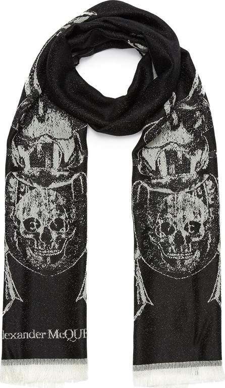 Alexander McQueen Scarab wool scarf