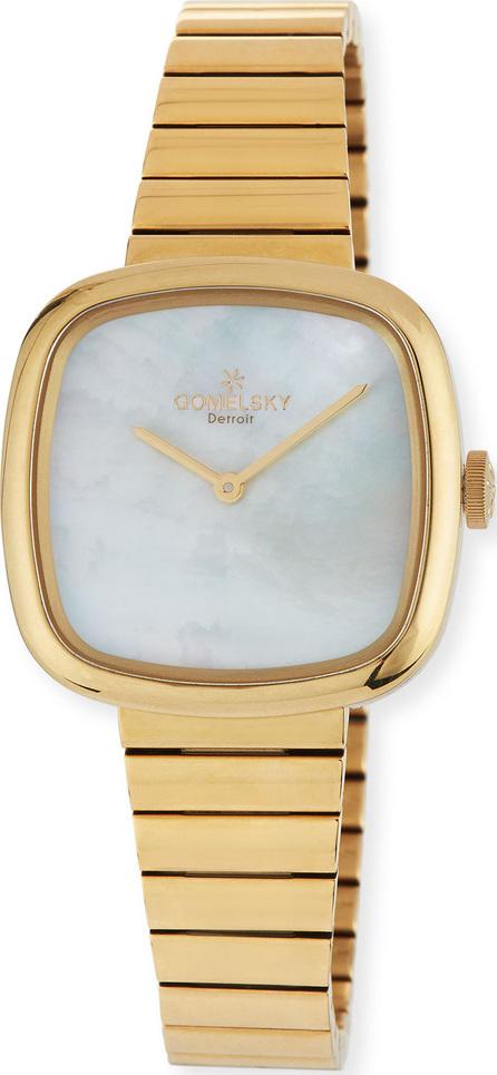 Gomelsky 32mm Eppie Golden PVD Bracelet Watch