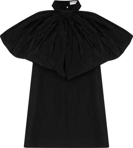 Givenchy Bow halterneck taffeta top