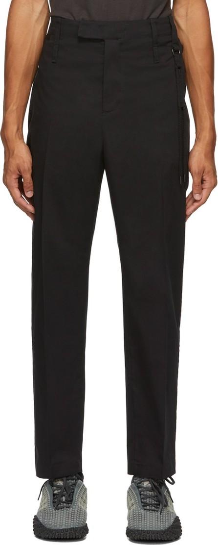 Craig Green Black Slim Uniform Trousers