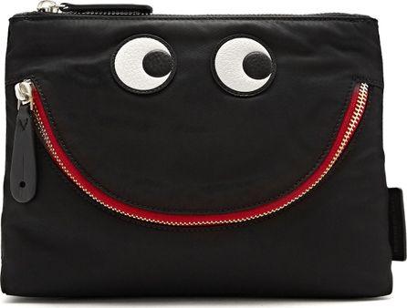 Anya Hindmarch Happy Eyes nylon pouch