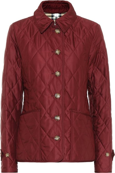 Burberry London England Fernleigh quilted jacket