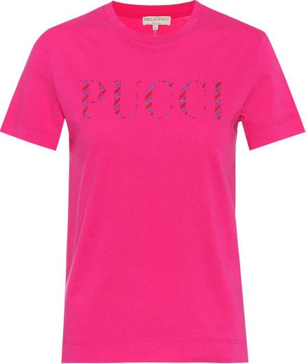 Emilio Pucci Logo cotton T-shirt