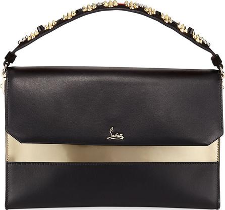 Christian Louboutin Loubiblues Calf Paris Clutch Bag