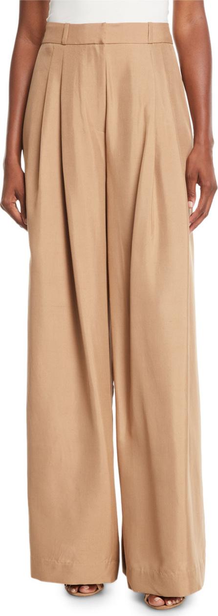 Zimmermann Unbridled Wide-Leg Silk Pants