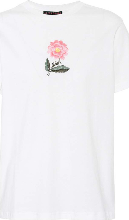 Alexachung Embroidered cotton T-shirt