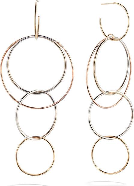 Lana 14K Gold Bonded Wire Hoop Earrings
