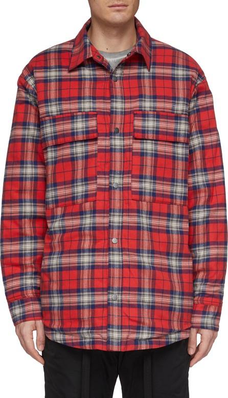 Fear of God Tartan plaid flannel shirt jacket