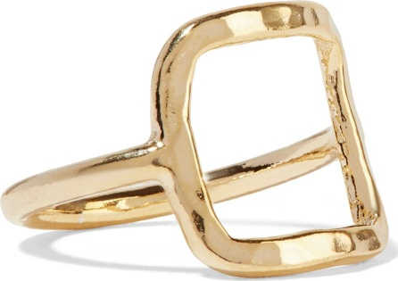 Adina Reyter 18-karat gold-plated ring