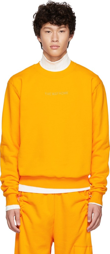 Feng Chen Wang Orange 'The Way Home' Sweatshirt