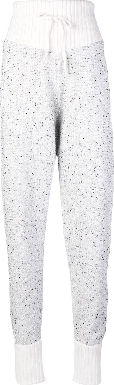 Alessandra Rich Knitted track pants