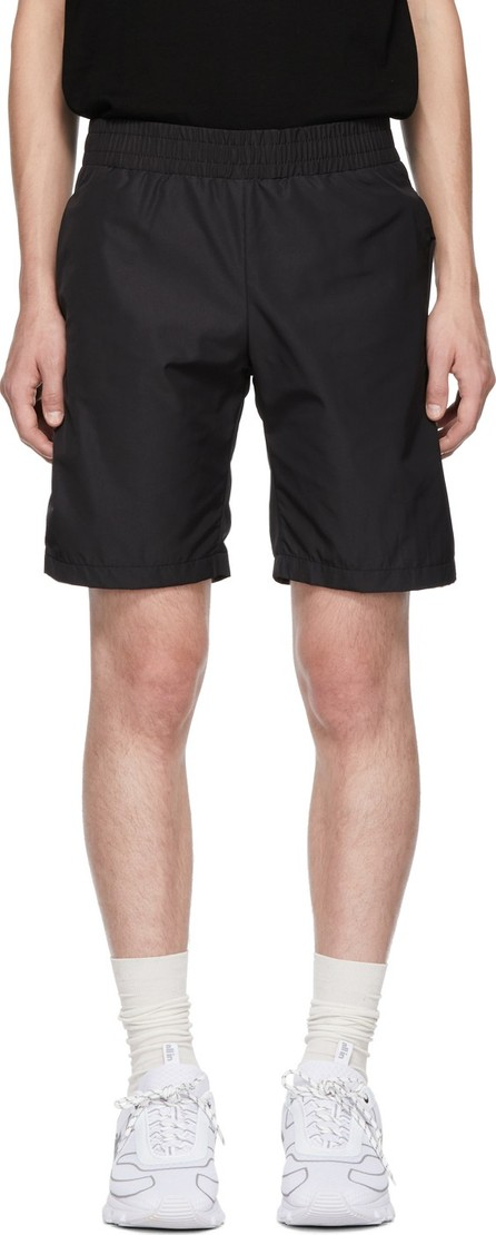 all in Black Tennis Shorts