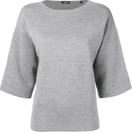 Aspesi Boxy-fit knitted top