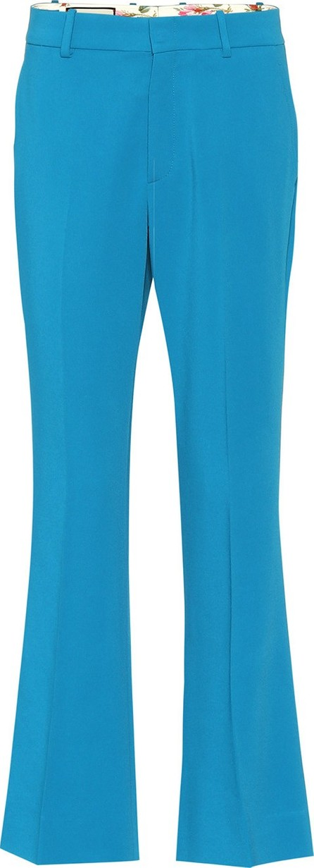 Gucci flared boot-cut trousers