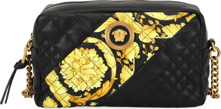 7016a407519 Versace Icon Small Quilted Napa Camera Bag with Barocco Print pretty nice  5d0d2 0327d  Versace - VERSACE SHOULDER BAGS K41OT Reebonz ...