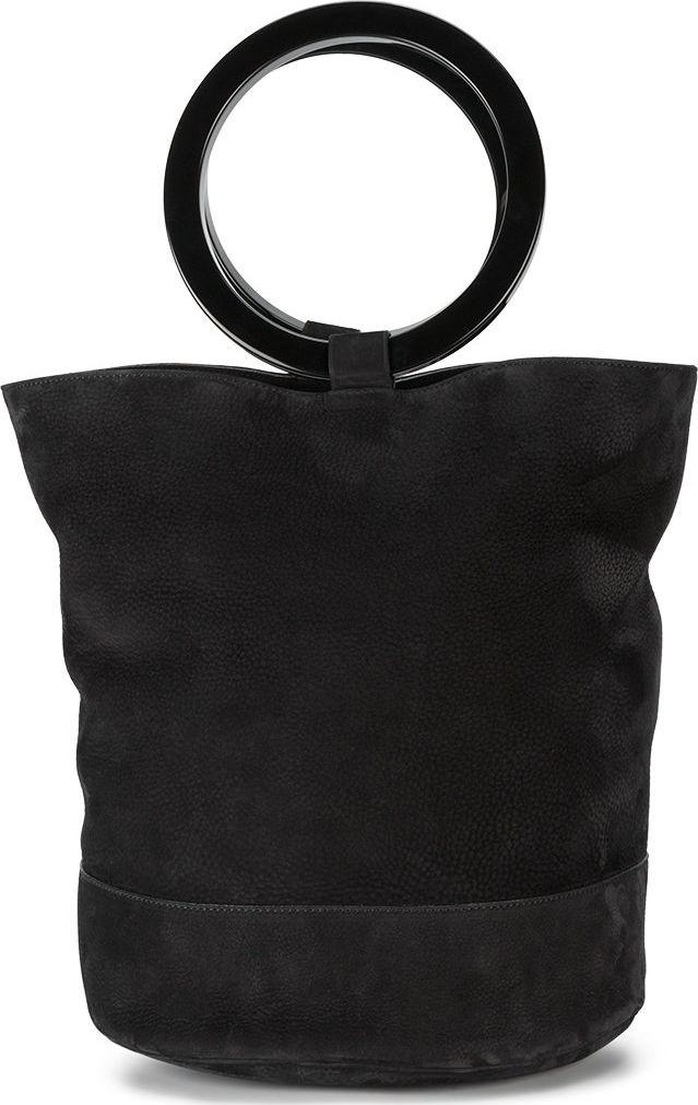 Simon Miller - large black Bonsai 30 bucket bag