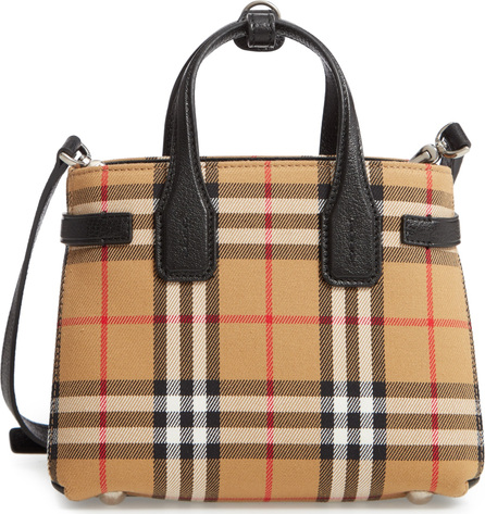 Burberry London England Baby Banner Vintage Check Tote