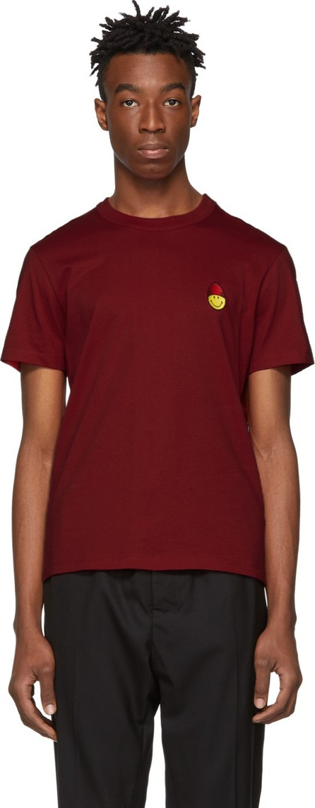 AMI Red Smiley Edition Patch T-Shirt