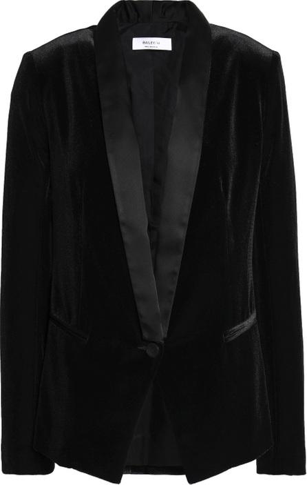 Bailey 44 Satin-trimmed velvet blazer